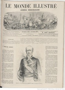 LE MONDE ILLUSTRE、1867.10.26 ①